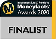 Moneyfacts Awards finalist logo