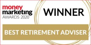 Money Marketing Awards 2020 winner logo